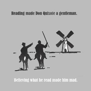 Contests » Goodjoe Theme No. 35: Famous Quotes » Design: Don Quixote