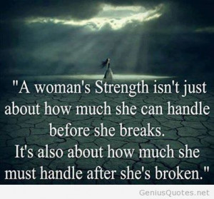 woman strength quote – brainy woman quote