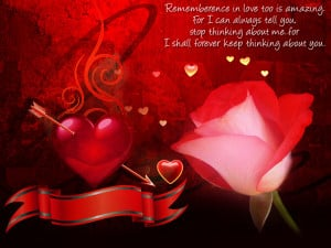 Love Quotes of Red Flower   Red Roses
