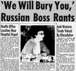 Khrushchev Quotes On Destroying America. QuotesGram