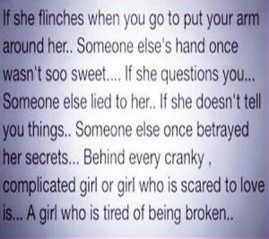 Tired of being broken