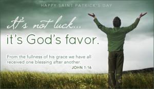 God's Favor Ecard