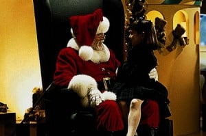 ... Richard Attenborough and Mara Wilson in Miracle on 34th Street (1994
