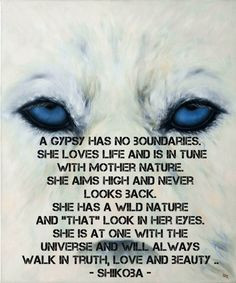 Gypsy Quote by Shikoba More