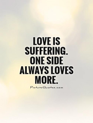 One Sided Love Affair Quotes
