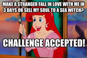 funny cartoon logic little mermaid