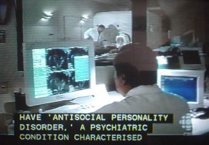 ... caption including 'ANTISOCIAL PERSONALITY DISORDER' and CHARACTERISED