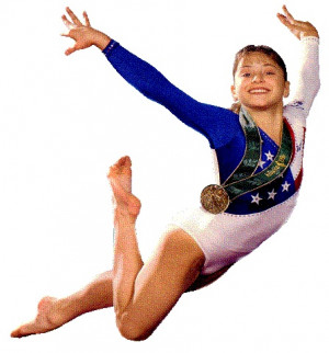 Dominique Moceanu 1996 Olympic Gold Medalist