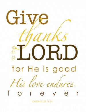 Free Give Thanks Thanksgiving Printable}