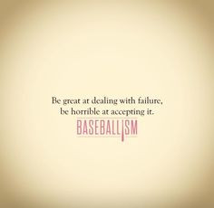 Baseball Quote Sign