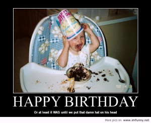 Hilarious Galleries » Funny Birthday Pictures