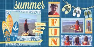 quick quotes 12 x 12 double page layout kit family