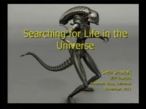 SCIENTIFIC SEARCHES OF LIFE BEYOND EARTH, SETH SHOSTAK, CON TRADUCCION