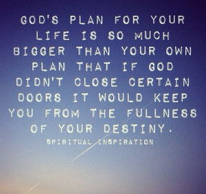 God S Plan Quotes