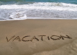 on Vacation!!