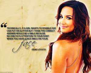 Demi Lovato quote by GoddessSellyGomez