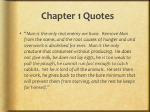 Quotes Benjamin From Animal Farm ~ Animal farm chapter quotes