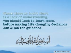 Beautiful Islamic Sayings About Life
