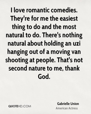 Gabrielle Union Nature Quotes