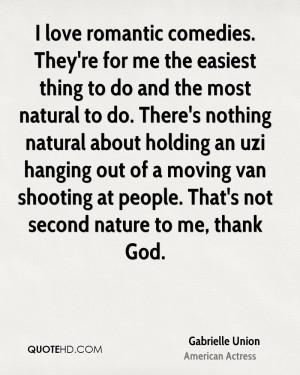 Gabrielle Union Nature Quotes