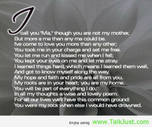 Rottenecards - My mother: My rock, My Protector My confidant, My heart ...