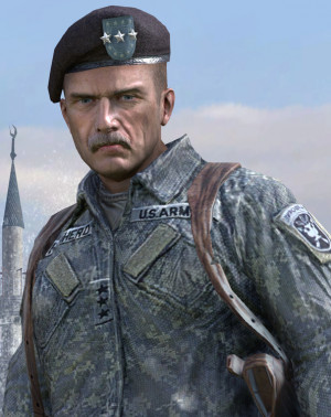 Shepherd, as he appears in Call of Duty: Modern Warfare 2