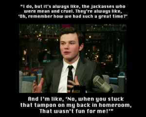 Chris Colfer's quote #7