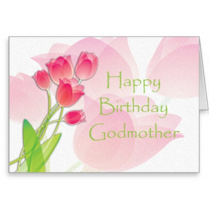 pink_tulip_birthday_card_for_godmother ...