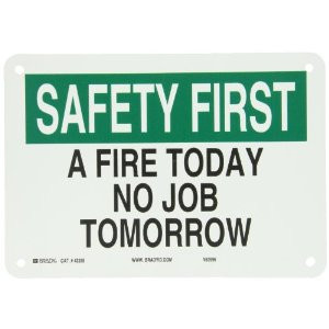 Funny Fire Safety Slogans