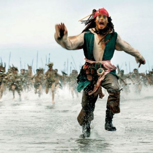 funny, haha, jack sparrow, johnny depp, pirate, pirates of the ...