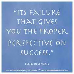 Failure Can Lead to Success