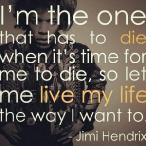 Let me live let me die