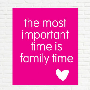 Top 10 Reasons Why Family Time is Nonnegotiable