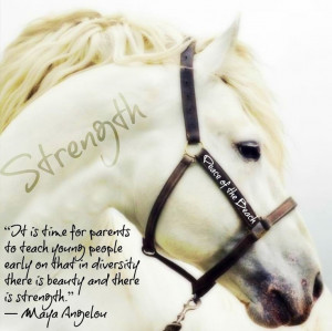 Strength and Diversity Maya Angelou quote via Peace of the Beach on ...