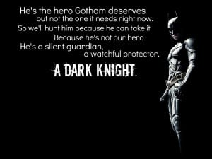 Batman Quote 2 by kool001ify