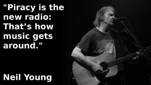 Neil Young: Piracy Is The New Radio