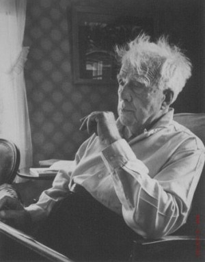 Author-Poet Robert Frost by Alfred Eisenstaedt