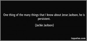 More Jackie Jackson Quotes