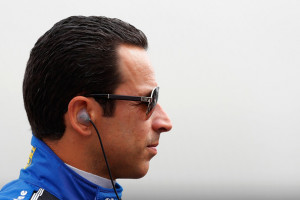 Helio Castroneves Helio Castroneves of Brazil driver of the 3 Team