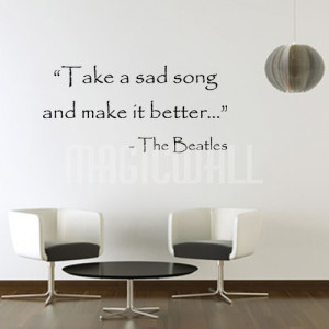 Home » Make It Better - Beatles - Inspiration - Wall Decals