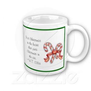 Candy Canes & Christmas Quote Mug