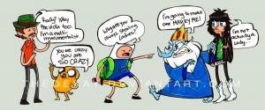 Adventure time Funny by princezzrockz