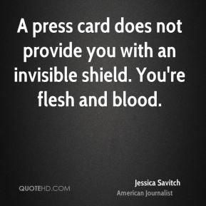 jessica savitch journalist quote a press card does not provide you jpg