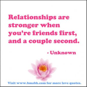 ... Powerful Falling In Love With Your Best Friend Quotes( With Picture