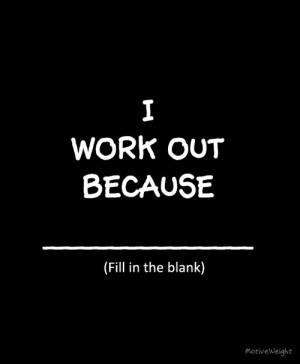 motivation for working out