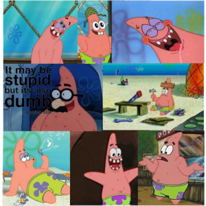 Patrick Star Quote Challenge (For Kayla!) - Polyvore