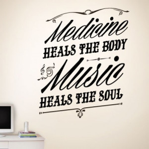 Home » Music Heals The Soul