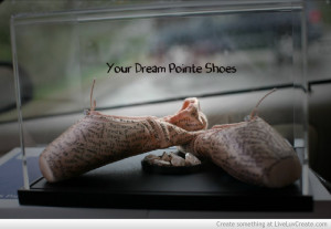 Your Dream Pointe Shoes