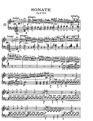 Piano Sonata No.17, Op.31 No.2 (Beethoven, Ludwig van)