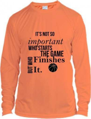Motivational basketball quote shirt